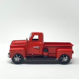 Metal Red Truck Christmas Tree Decoration